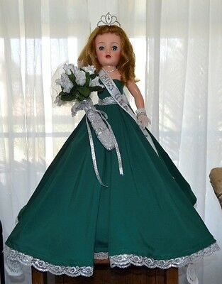 """Gorgeous Ideal 18"""" Miss Revlon as """"Miss USA"""" Pageant Doll Must See"""