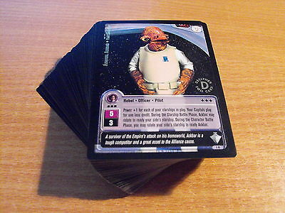 Star Wars Jedi Knights Masters Of The Force Gold Foils Complete Set