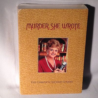 DVD Murder She Wrote - Second Season - Two 2 (3 DISC SET) NEW MINT SEALED