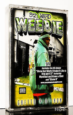 5th WARD WEEBIE - GHETTO PLATINUM 2000 USA NEU NEW MC Kassette tape cassette