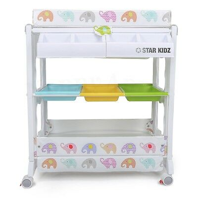 Star Kidz Yarra Baby Bath Changer Station Unit - Mammoth