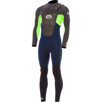 Animal Lava Front Zip 5~4~3 Mens Surf Gear Wetsuit - Total Eclipse All Sizes