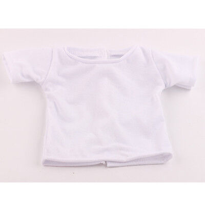 Children Christmas gift top t shirt clothes for 18inch American girl doll b878