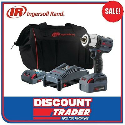 "Ingersoll Rand 1/2"" Impact Wrench 20V Brushless 5.0Ah Li-Ion QV20 - W5152-K22"