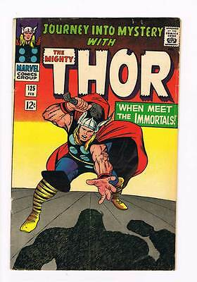 Journey into Mystery # 125 Kirby Thor grade 5.0 scarce hot book !!