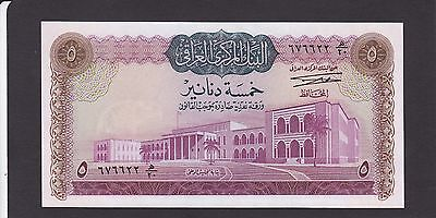 Iraq 5 Dinars Of 1971 Issue P.59 Sign.16  In  Unc Cond.