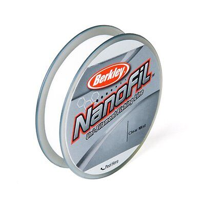 Berkley Nanofil 6lb 150yd Clear Mist Filler Braided Line Spool 6-150 yd New