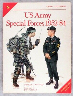 Military Book:  U.S. Army Special Forces 1952-84 - #4, Osprey Elite Series