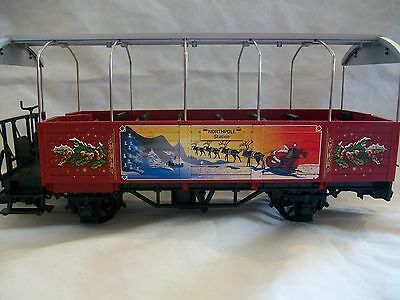 LGB Train G Scale 32250 Northpole Station Chirstmas Observation Car