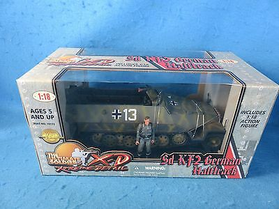 Ultimate Soldier 1/18th scale WWII German Sd KF2 Halftrack MIB