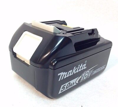 GENUINE Makita BL1850B NEW 18V 18 Volt LXT Lithium-Ion 5.0 Ah Battery