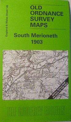 Old Ordnance Survey Maps South Merioneth 1903 & Plan Quarries Upper Corris 1900