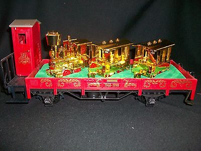 LGB Train G Scale 41124 30th Anniversary Gold Gnomy Transport Train 1968-1998