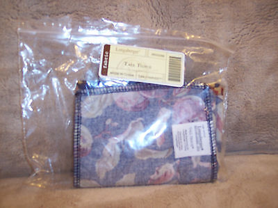 Longaberger TALL TISSUE LINER EARLY HARVEST - RETIRED