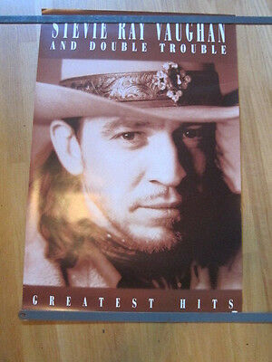 STEVIE RAY VAUGHAN Greatest Hits Promo poster 24x36