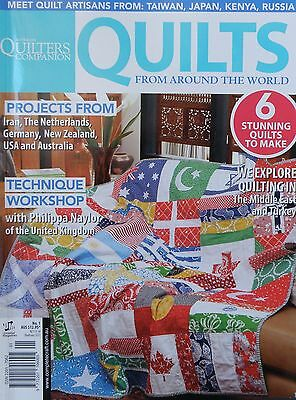 Quilters Companion Magazine Quilts From Around The World No.1