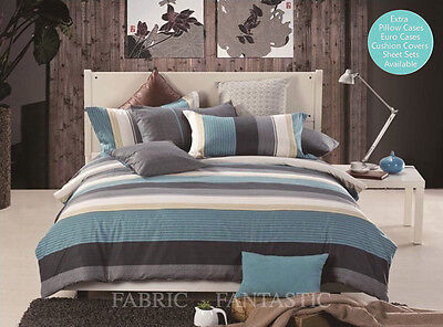 FANTASY Duvet/Doona/Quilt Cover & 2 Pillowcases Set Queen/King Size Bed New