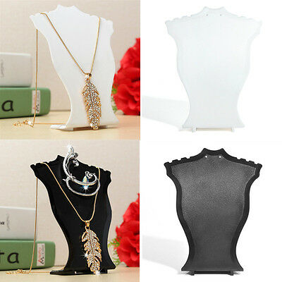 Black Color Pendant Necklace Jewelry Display Earring Holder Stand Show Model New