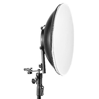 """Neewer 16""""/40cm Speedlite Flash Cold Shoe Beauty Dish with Beauty Dish Mount"""