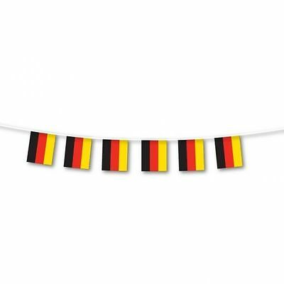 Street Garden Party German Germany Eurovision Flag Bunting 3m Decoration 993983