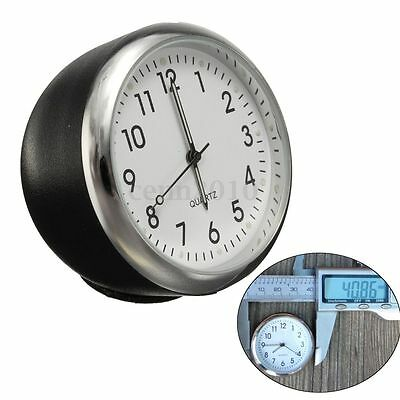 40mm Anti-rayures Voiture Mécanique Horloge Quartz Temps Clock Noctilucent Light