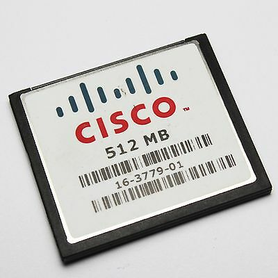 512MB CISCO CompactFlash 512 Mo CF Memory Card Industrial Grade MEM3800-512CF