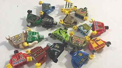 10 GENUINE LEGO SPARE PARTS-TORSO- Body-Patterned Assorted lot