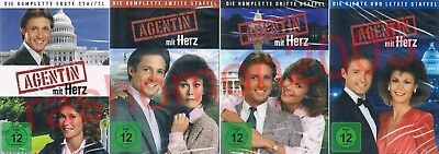 DVD R2 SCARECROW AND MRS KING COMPLETE TV SERIES SEASON 1+2+3+4 Region 2 PAL NEW