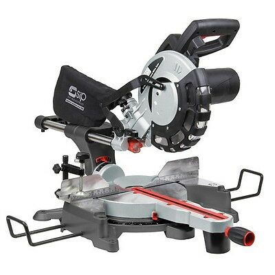 "SIP 01511 Sliding Compound Mitre Saw 10"" / 254mm - with Laser"