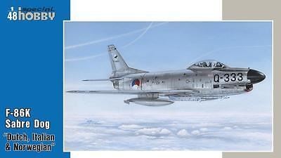 """SPECIAL HOBBY 48123 F-86K """"NATO All Weather Fighter"""" in 1:48"""