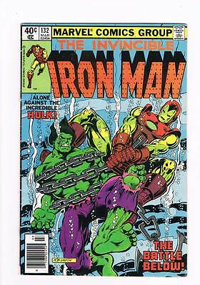 Iron Man # 132  Alone Against the Incredible Hulk !  grade 5.0 scarce book !