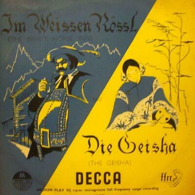"Various Classical(10"" Vinyl)Selections From Im Weissen Rossl/Die Geisha-VG/VG+"