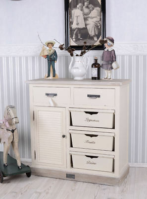 shabby vintage schrank buffetschrank k chenschrank eur 379 00 picclick de. Black Bedroom Furniture Sets. Home Design Ideas