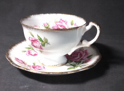 Royal Standard Orleans Rose Cup And Saucer Set