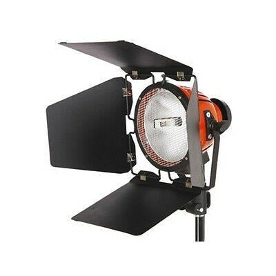 StudioKing Halogen Studio Light TLR800C 800W White Stage Lamp with Barndoors