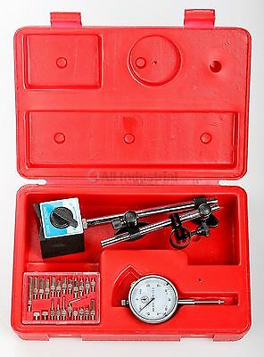 Dial Indicator Magnetic Base & Point Precision Inspection Set