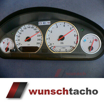 "speedometer speedometer dial for BMW E36 Petrol "" M3 Grey"" 260Km/h"
