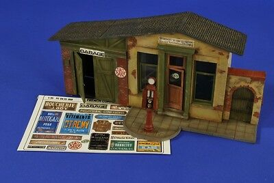 VERLINDEN PRODUCTIONS #2654 WWII French Garage Road Stop in 1:35