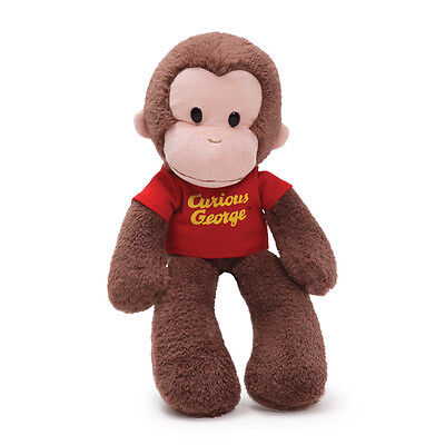 "CURIOUS GEORGE TAKE A LONG DOLL - by GUND - 15"" - BRAND NEW - #4030391"