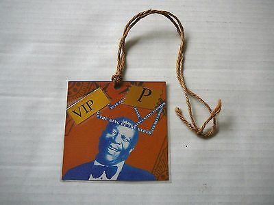 B.b. King Official Blues Foundation Show Vip Pass