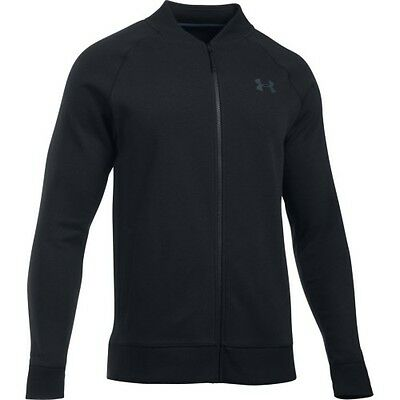 Under Armour Storm Rival Fleece Mens Jacket Track - Black All Sizes