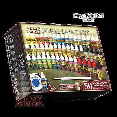 The Army Painter Mega Paint Set III - Newest Collection!