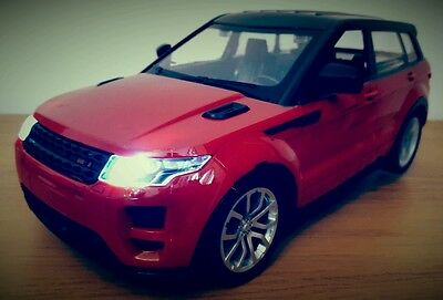 Large Range Rover Evoque Gravity Sensor Rechargeable Radio Remote Control Car