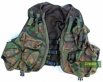 (3) GENUINE BRITISH ARMY ACE HYDRO ASSAULT VEST in DPM WOODLAND CAMO