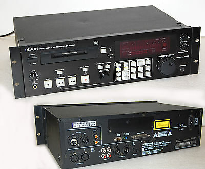 Denon Professional Md Recorder Dn-M1050R For Mini Disc #i105