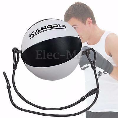 PU Leather Speed Dodge Ball Double End Boxing Sports Punch Bag Floor To Ceiling