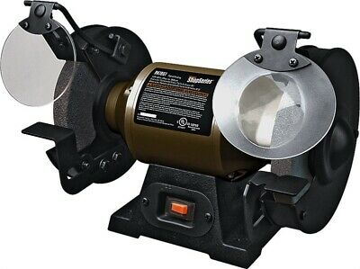 """New Rockwell Rk7867 Electric 1/2Hp 6"""" Bench Grinder Kit New In Box"""