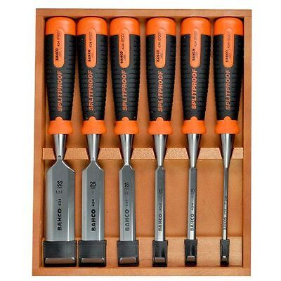 Bahco 434-S6 Bevel Edge Chisel Set Set of 6 - Type : Outils et NEUF