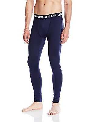 Under Armour 1265649 Legging de protection thermique Homme Midnight Nav NEUF
