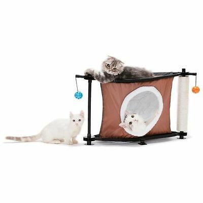 KITTY CITY Coin Sleepy - Aire de jeux 44x45x45cm - Pour chat - Coin NEUF